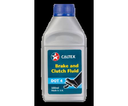 CALTEX - Brake and Clutch Fluid DOT 4