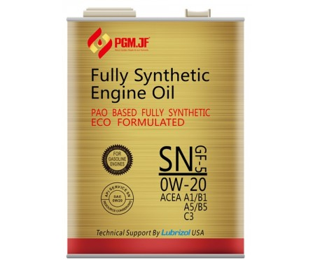 PGM.JF Full Synthetic SN GF-5 0W20